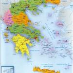 Mapas de las islas griegas