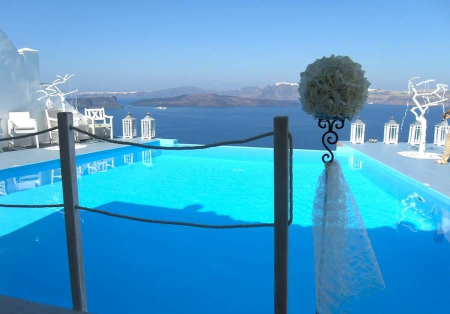 Los hoteles de Sn Santorini se encuentran entre los más espectaculares de Grecia.