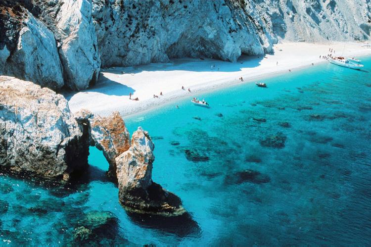 Playa de Lalaria en Skiathos
